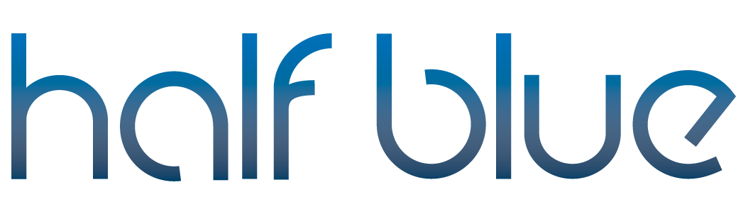 Half Blue Logo